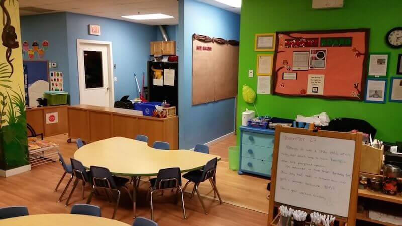 interior of Coquitlam daycare - Rainforest Learning Centre