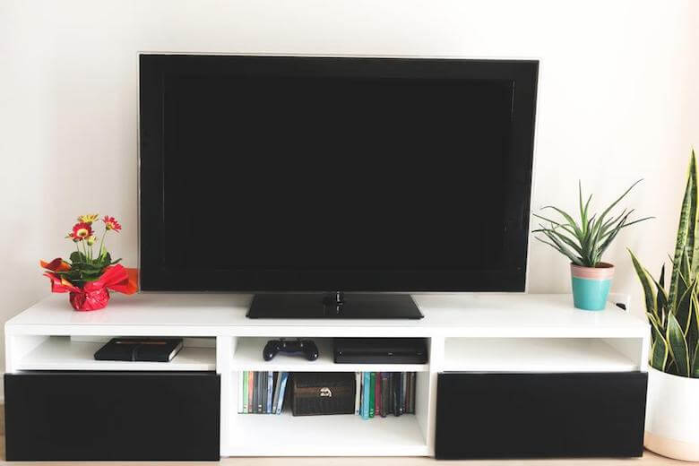 tv on shelf - youtube channels for toddlers and preschoolers article featured image